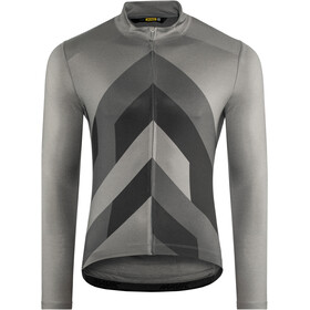 Mavic Cosmic Graphic Maillot manga larga Hombre, smoked pearl
